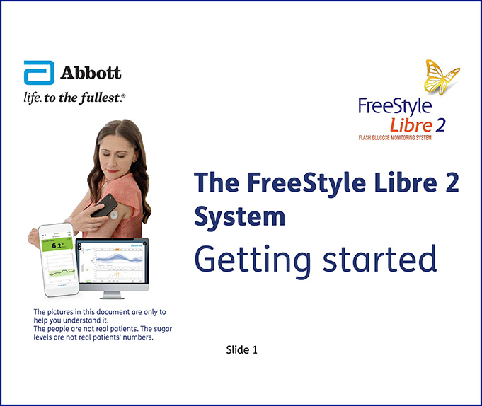 FreeStyle Libre 2 Getting Started