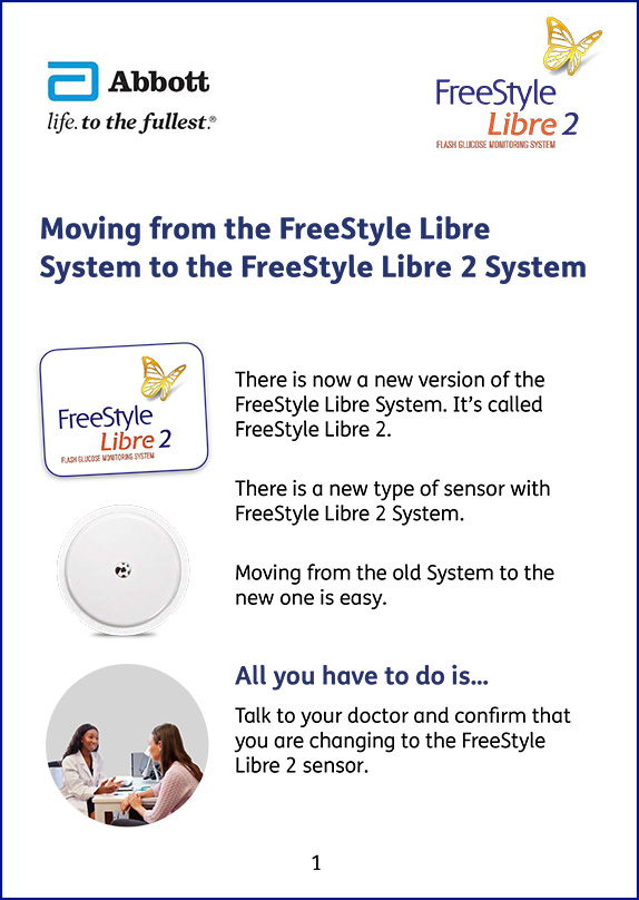 Moving to FreeStyle Libre 2