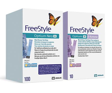 FreeStyle Optium Neo H - Ketone Test Strips