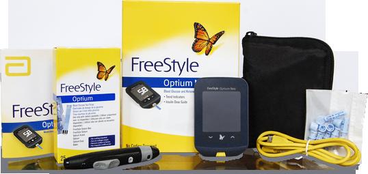 FreeStyle Optium Neo pack