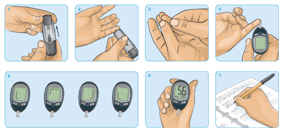 Freestyle Freedom Lite Freestyle Blood Glucose Meters
