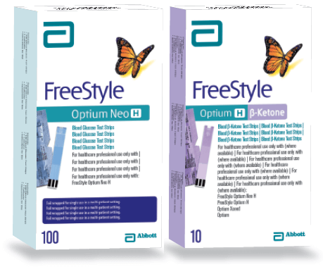 Diabetes testing strips free style