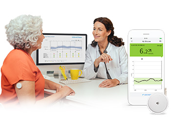 The FreeStyle Libre 2 system is a revolutionary way of glucose monitoring