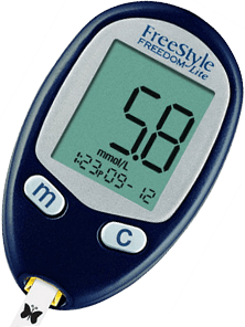 Freestyle Freedom Lite Freestyle Glucose Meters