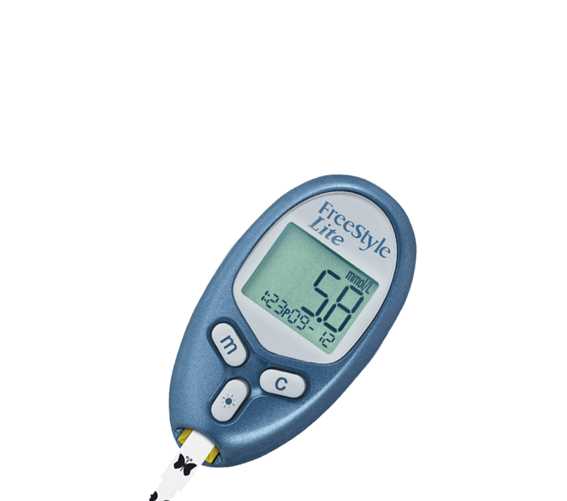 freestyle lite freestyle glucose meters