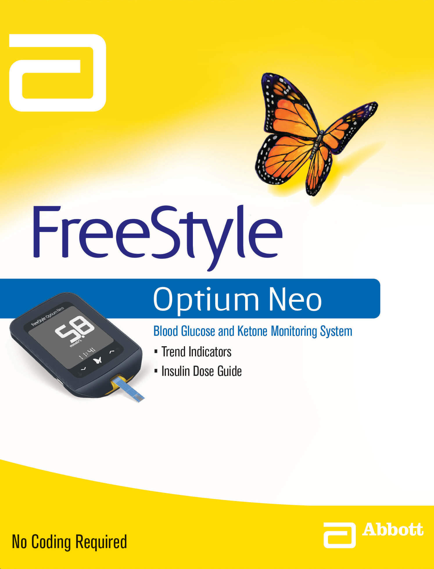FreeStyle Optium Neo - Insulin set up