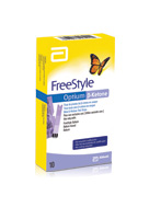 FreeStyle Optium Blood β Ketone Test Strips