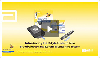Freestyle Optium Neo Freestyle Glucose Meters